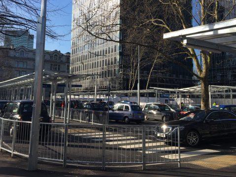Euston Station Taxi Rank - Banner