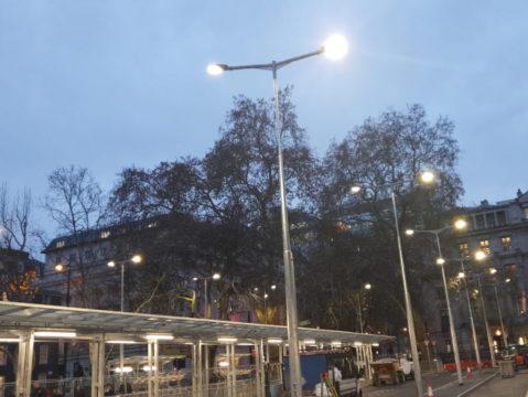 Euston Station Taxi Rank - Highway Diamond Shelter Storm LED (1)