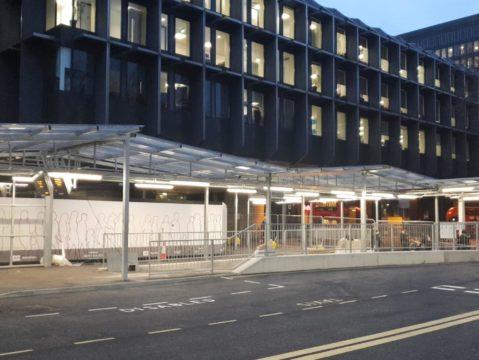 Euston Station Taxi Rank - Shelter Storm LED (2)