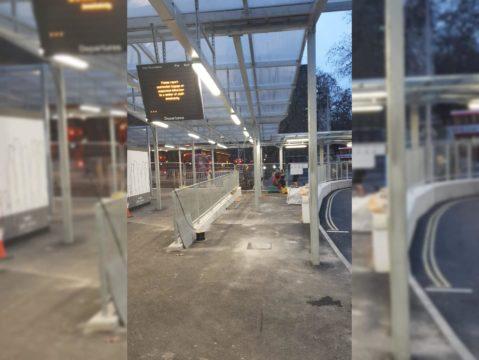 Euston Station Taxi Rank - Shelter Storm LED