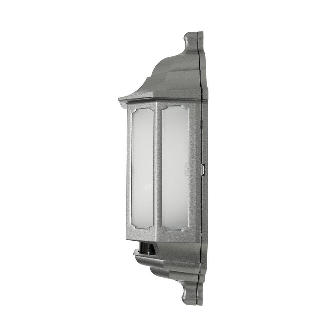 Half Lantern Asd Lighting Plc Post Light Dusk To Dawn Photocell Sensor Wiring Diagram Titanium Opal Side