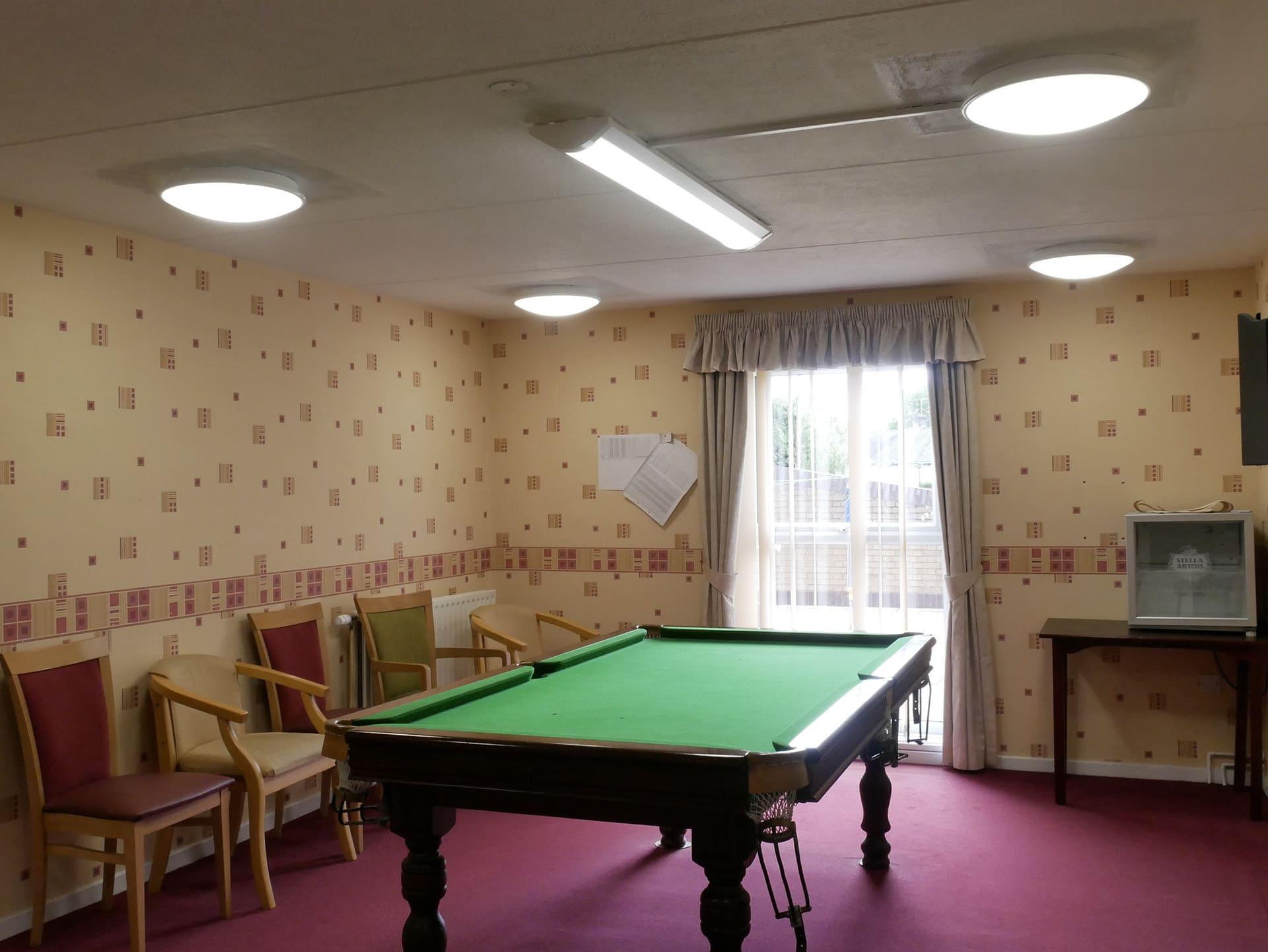 Harmony & Corrido LED Snooker Room