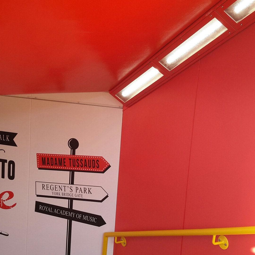 Invincible Subway Installation 2