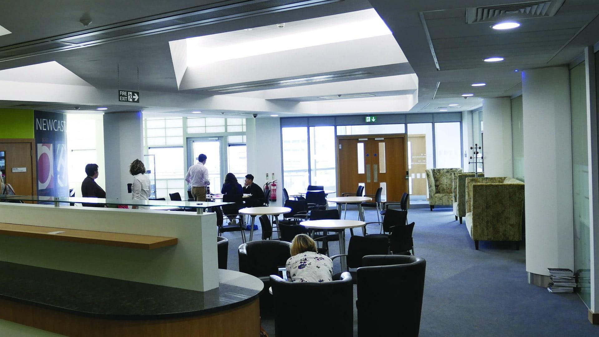 Northumbria CCE1 - Litepod Battern Top Floor