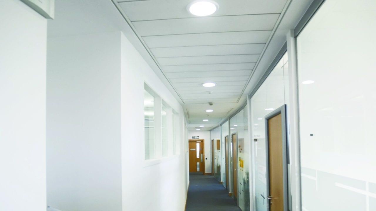 Northumbria CCE1 - ZIP LED Corridor