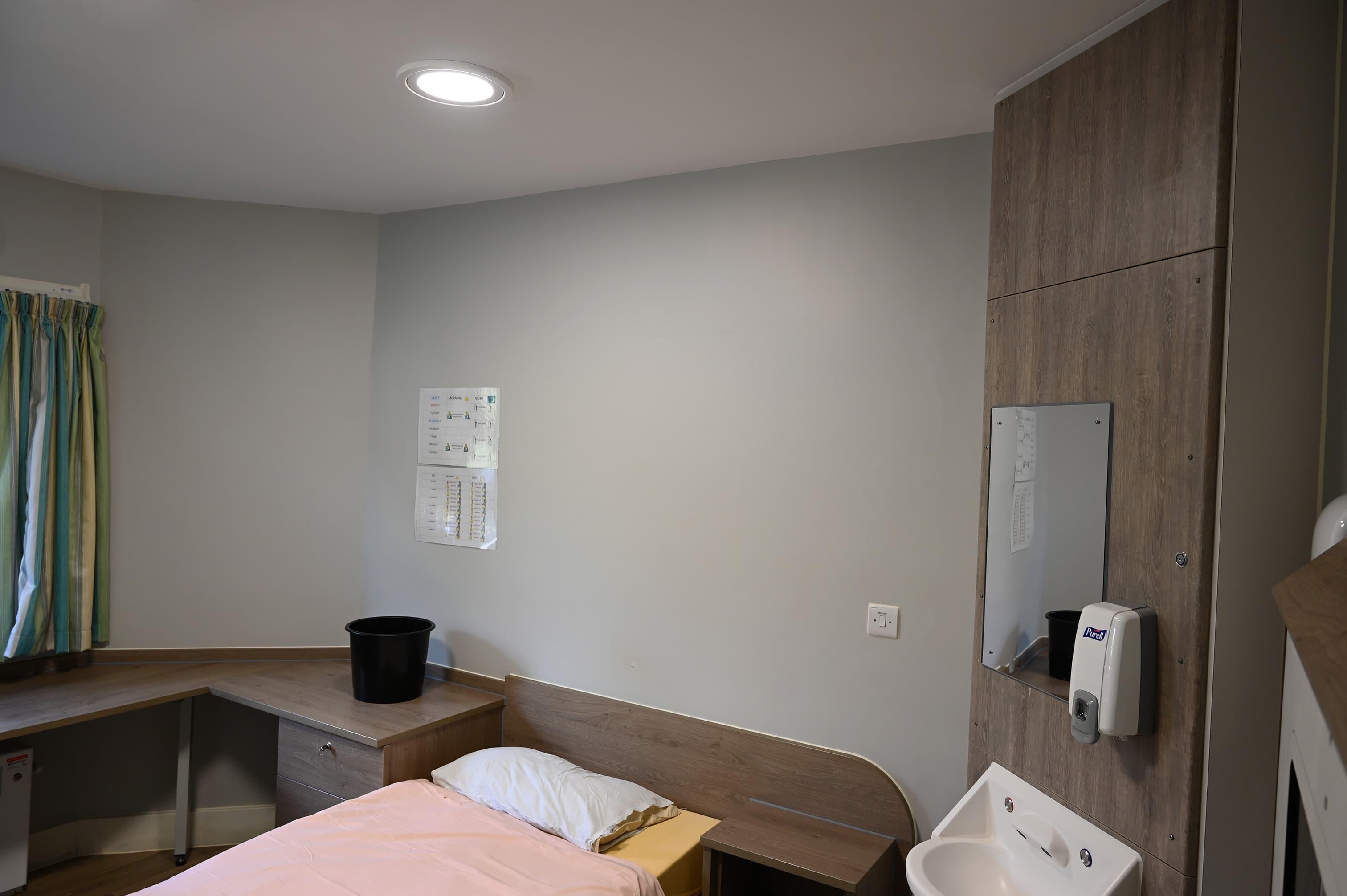 Prestwich Hospital - Bedroom