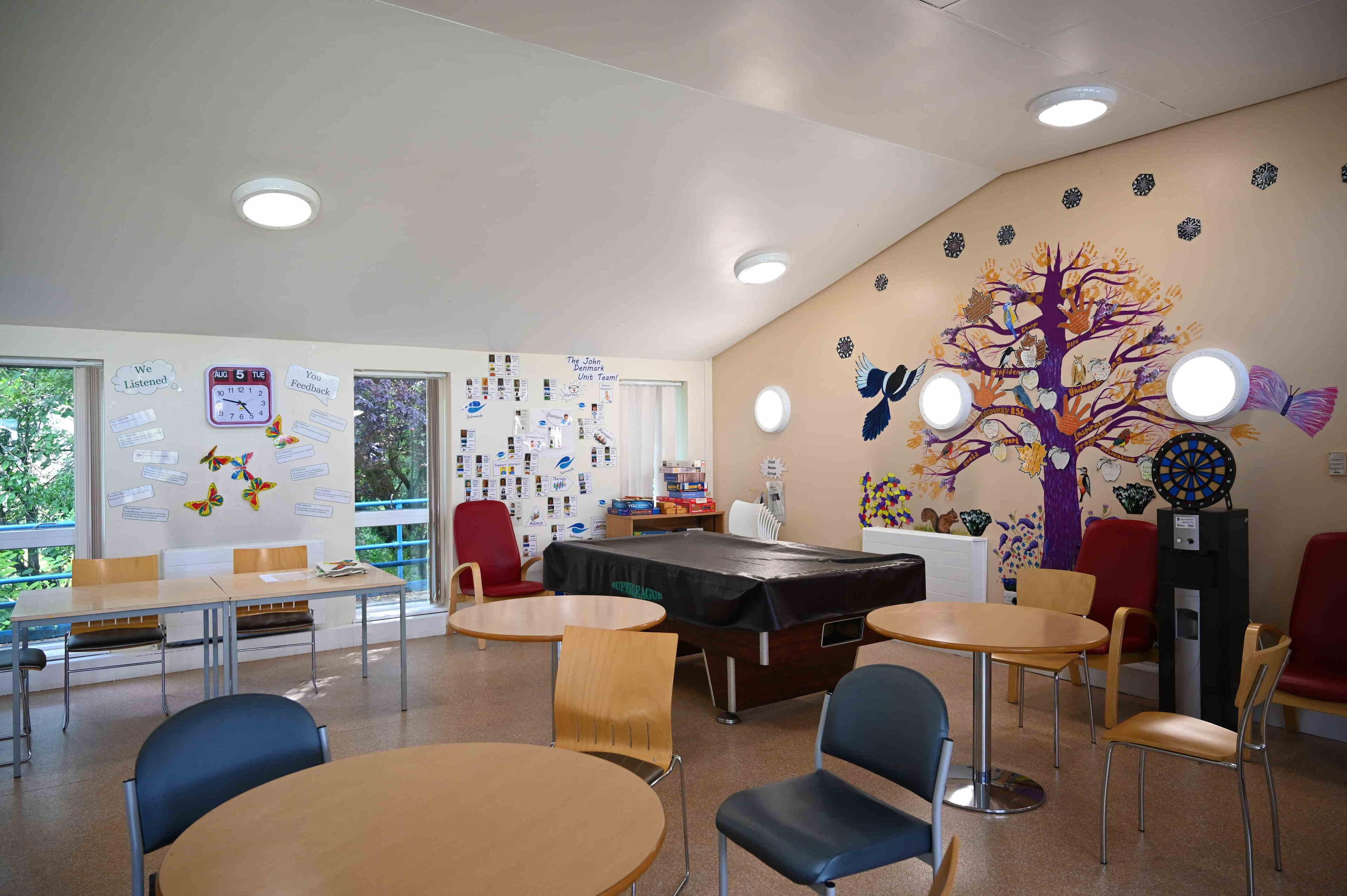 Prestwich Hospital - Communal Room