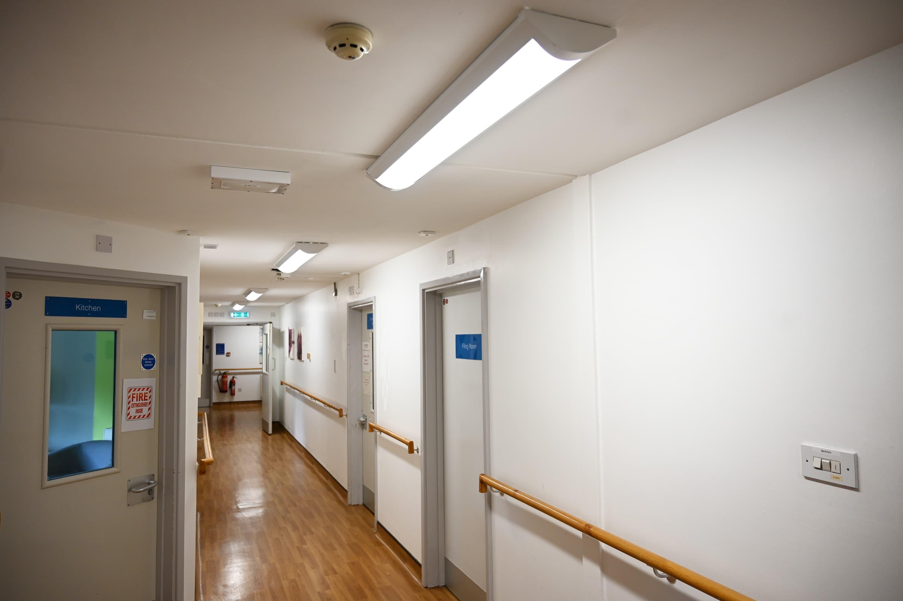Prestwich Hospital - Corridor