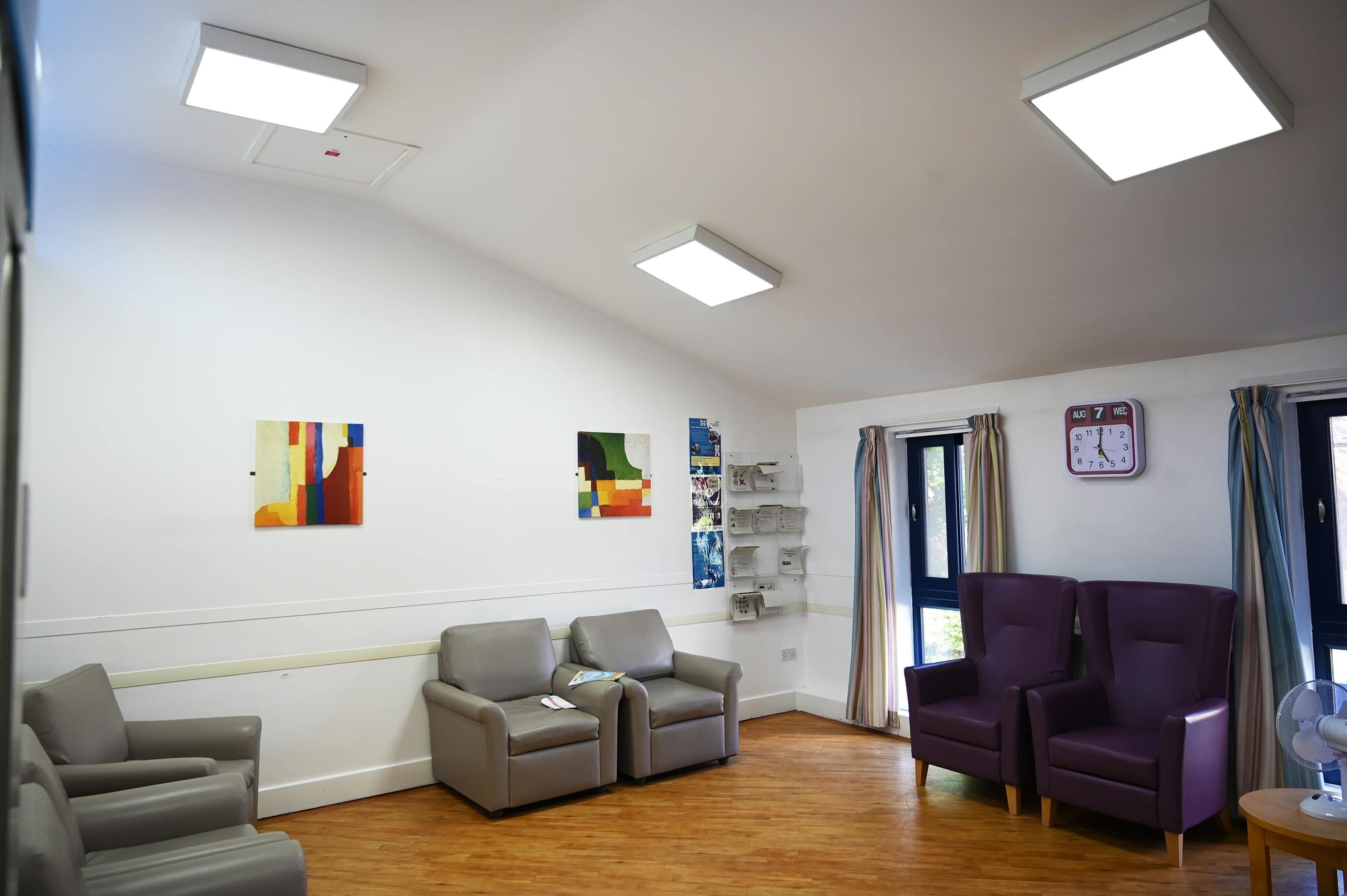 Prestwich Hospital - Living Room