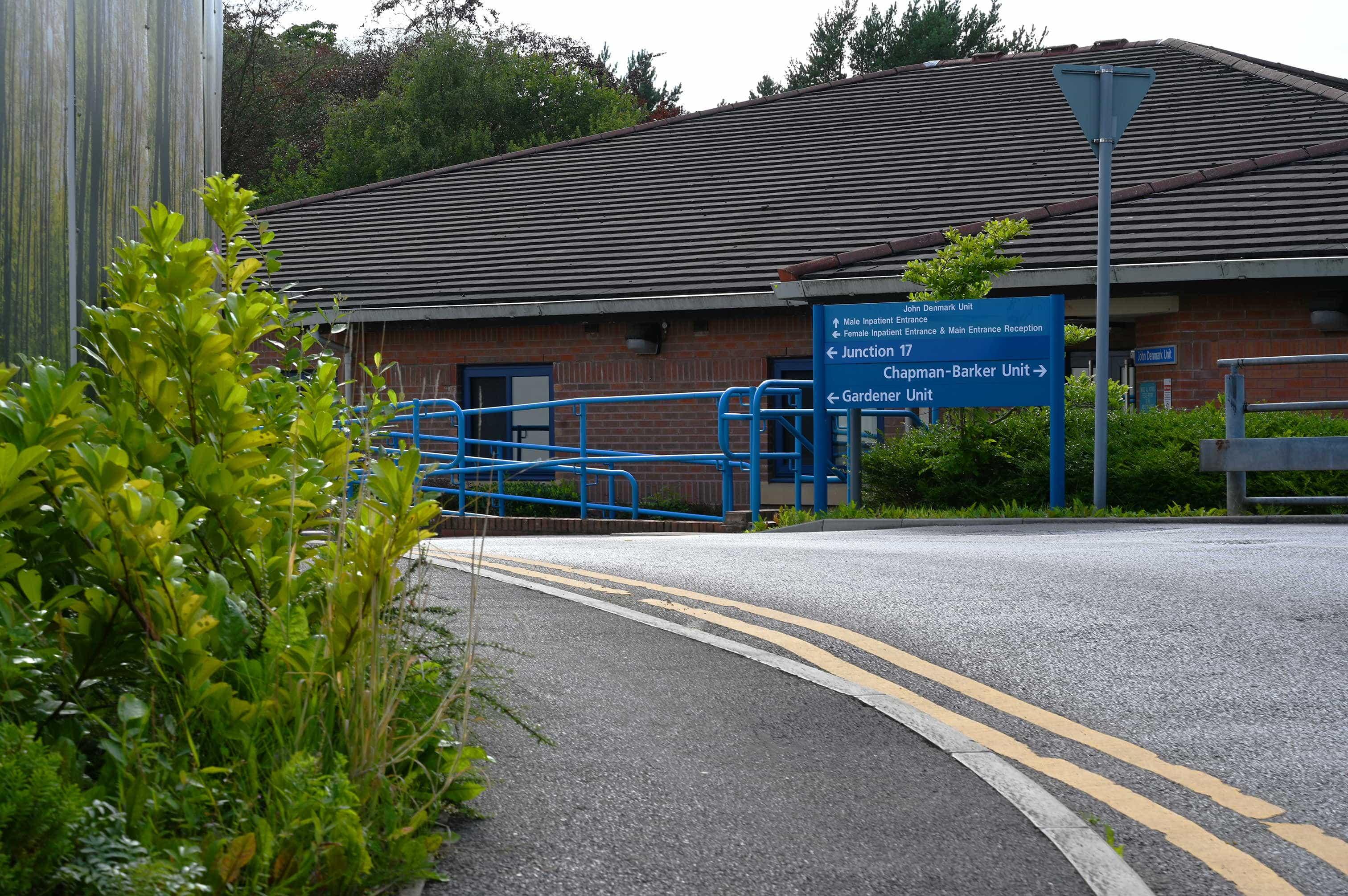 Prestwich Hospital - Outside 1