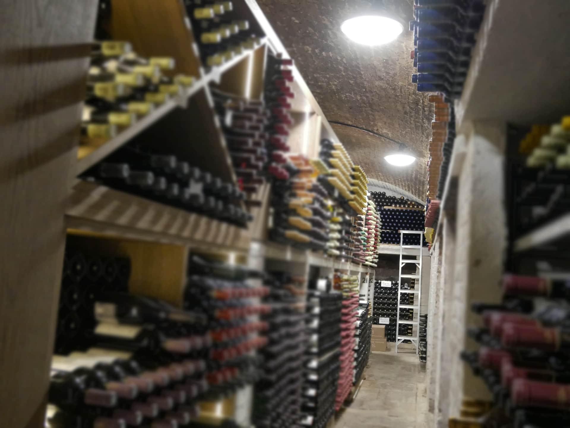St Johns College Oxford - Harmony - Wine Cellar (1)